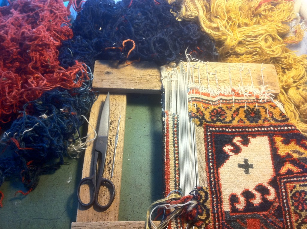 Persian Carpet Repair - Article Summer Edition - December 2012 - Pic 06