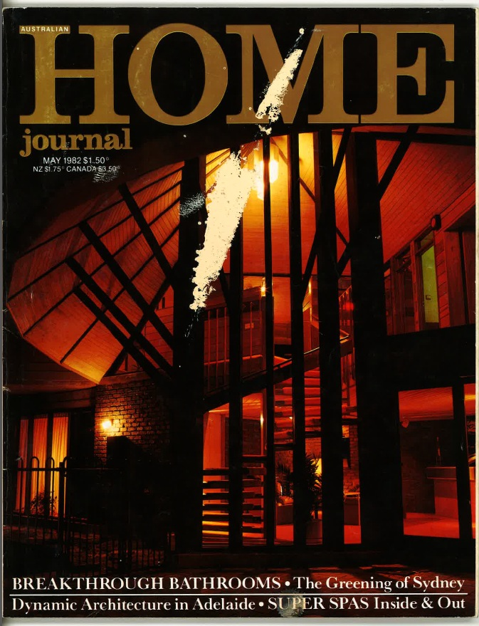 Ahmet Solak Persian Carpet Repair and Restoration Co appears in 1982 Home Journal (Cover)